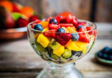 Coupe de fruits au Limoncello