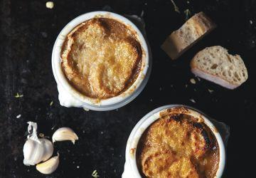 Soupe à l'oignon gratinée de Marilou