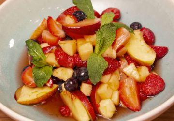 Salade de fruits à la lime