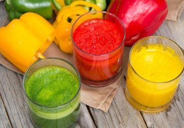 Smoothie aux légumes d'été