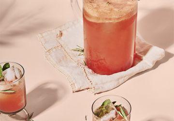Mocktail au melon d'eau & à la menthe