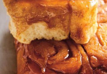 Brioches renversées au caramel