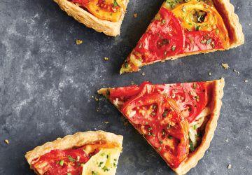 Tarte aux tomates ancestrales