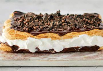 Gâteau éclair au chocolat