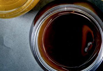 Vinaigrette à la mélasse et au vinaigre balsamique