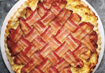 Tarte salée aux pommes de terre et au bacon