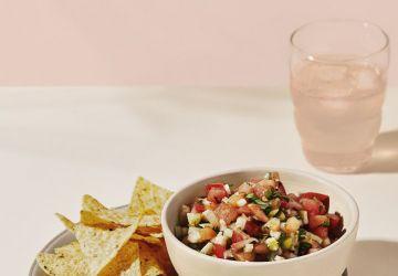 Salsa de melon d'eau, tomate & fenouil