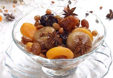 Compote de fruits secs au Porto