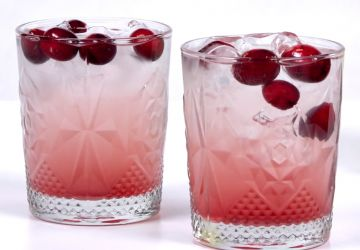 Vodka citron-canneberge