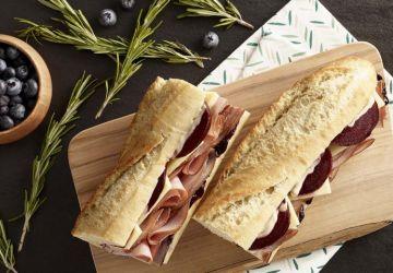 Sandwich au jambon façon Boréal