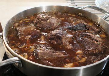 Palette de bœuf façon bourguignonne par Marc Maulà