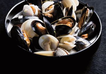 Moules au lait de coco