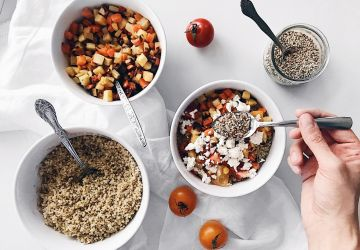 Bol déjeuner multigrains salé au quinoa (à préparer d'avance)