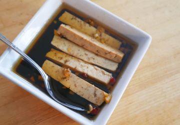 Marinade asiatique pour tofu