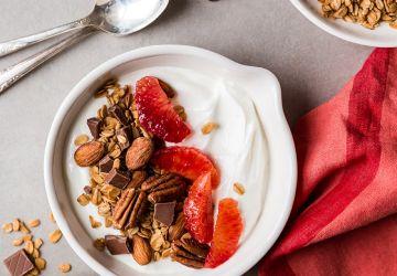 Granola maison au chocolat etnoix