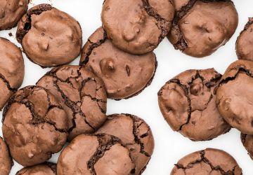 Biscuits à la meringue au chocolat