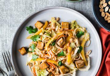 Salade pad thaï