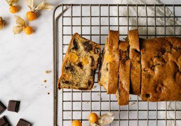 Gâteau cerises de terre, choco et orange