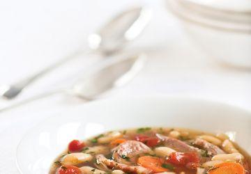Soupe cassoulet