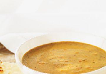 Crème de lentilles aux légumes
