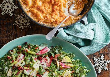 Salade de kale et de céleri Waldorf