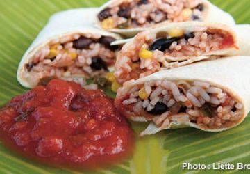 Burritos rapides et rassasiants