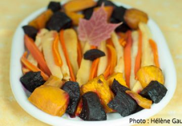 Recette légumes caramélisés