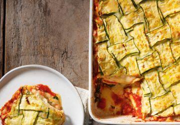 Lasagne crémeuse aux légumes rôtis