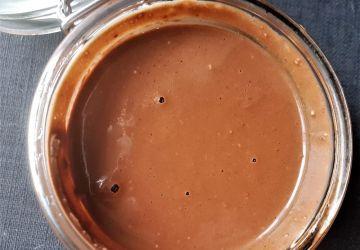 Tartinade chocolat-noisette (nutella maison) sans produits laitiers