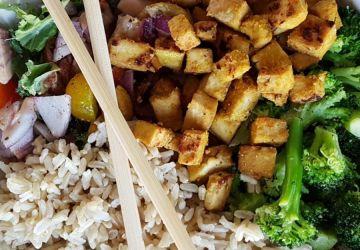 Tofu asiatique en croûte