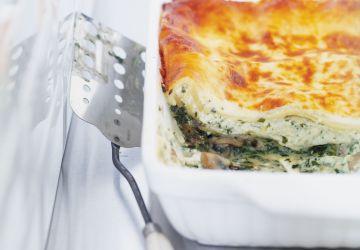Lasagne au fromage bleu
