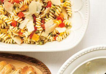 Salade de pâtes à la peperonata