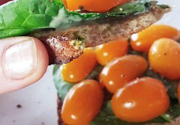 Sandwich aux tomates revisité
