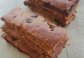 Barres muffin PB2 et chocolat