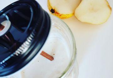 Smoothie à la poire, à la vanille et au gingembre… comme une détox qui goûte bon!