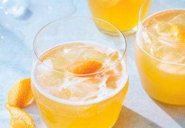 Cocktail tropical à la bière