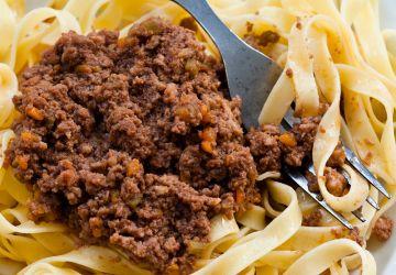 Sauce ragù à l'italienne