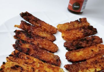 Bacon de tempeh, un bacon sans viande protéiné et pratique!