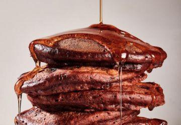 Pancakes double chocolat