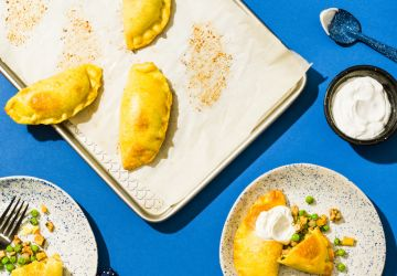 Empanadas au fromage et audindon