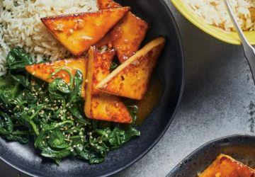 Tofu au gingembre et à l'orange