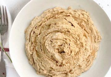 Hummus au sésame léger