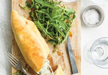 Tronchetti aux trois fromages (calzones)
