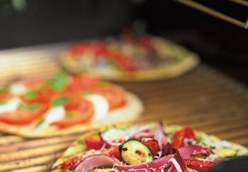 Pizzas au barbecue