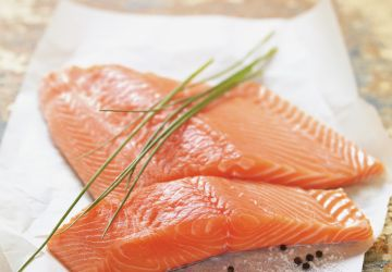 Saumon au balsamique et aux lentilles