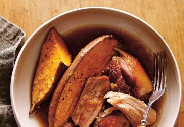 Porc à l'érable et à l'ail rôti