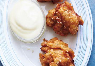 Poulet frit au sésame