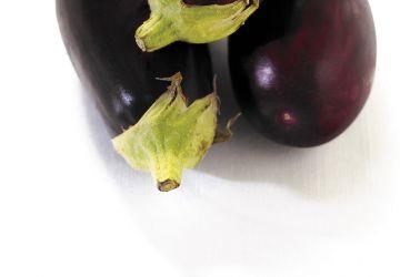 Brochettes de poulet et aubergine à la lime