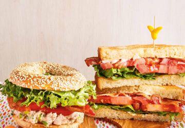 Sandwich BLT (Bacon-Laitue-Tomate)