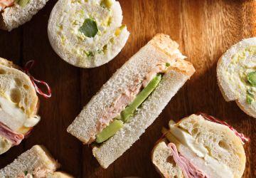 Sandwichs au saumon confit express